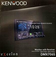 "NEW Kenwood DMX706S Apple Carplay, Android Auto, Bluetooth HD Radio 6.95"" Screen"