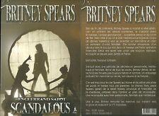 LIVRE - BRITNEY SPEARS : SCANDALOUS / BOOK