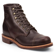 NIB Auth. Chippewa 1901G48 Smith Cordovan men 6-inch tall classic Boots 7D-8.5D
