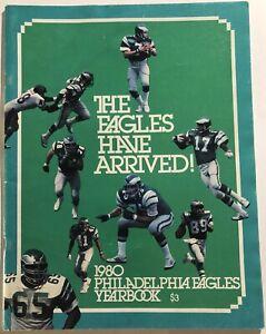 1980 PHILADELPHIA EAGLES Yearbook RON JAWORSKI Bergey CARMICHAEL Montgomery