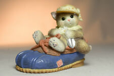Calico Kittens: You're Good For My Sole - 314544 - Kitten in Shoe with Shovel