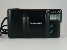 "New ListingOlympus Infinity S 35mm Point Shoot Film Camera ""Working"""