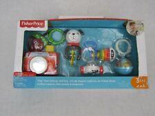 Fisher Price Tiny Take Alongs Gift Set Mini Favorite Baby Stroller Carrier Toys