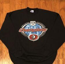 Excellent Condition Vintage 1999 Pro Player Buffalo Sabres Sweatshirt Sz L