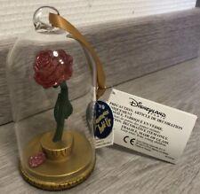 Ornament/ Ornement Belle et Bete Rose / Beauty & Beast Flower Disneyland Paris