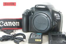 Canon EOS 1100D DSLR Camera Body Only & Accessories  *Low Shot Count* *FREE P&P*
