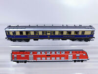 CQ511-0,5# Märklin H0/AC Salonwagen Rheingold (aus 4228) Licht DRG NEM KKK, s.g.