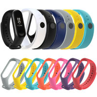 Replacement Soft Silicone Band Strap for Xiaomi Miband 3 Smart Watch Bracelet