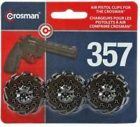 Crosman 10-shot Speedloader Clip 3-pack For Model Vigilante And 357W