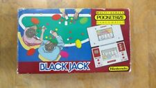 1985 **Rare** **POCKETSIZE** NINTENDO Game and Watch Black Jack!!