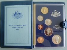 1986 Six Coin Proof Set, Royal Australia Mint