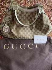 Authentic Gucci Sukey Leather Hand Tote/ Bag/Purse