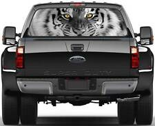 Tiger Head BW  Window Graphic Decal Sticker Truck SUV Van Car