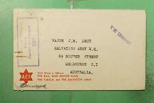 AUSTRALIA HMS NAVAL SHIP FREE FRANK TO MELBOURNE WWII CENSORED