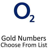 o2 UK GOLD VIP BUSINESS EASY MOBILE PHONE NUMBER DIAMOND PLATINUM SIM CARD