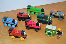 Thomas & Friends Wooden Railway TOY TRAIN Lot Paxton Salty Henry Den Rheneas