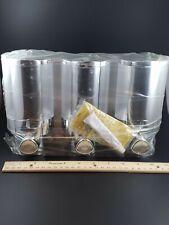 Better Living Products 76345 Aviva Three Chamber Dispenser Chrome NEW