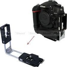 New Vertical Shoot L Bracket for Nikon D810 D800E D800 D750 D700 D300 D300S D4