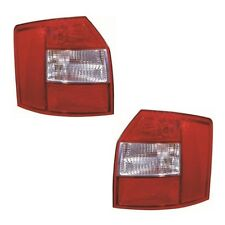 For Audi A4 Mk2 Estate 2001-2004 Rear Tail Lights Lamps Non Led Pair OS NS