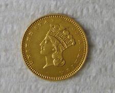 1862 Indian Princess Type 3, Gold $1 Coin