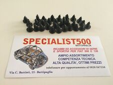 FIAT 500 F/L/R KIT GOMMINI   FISSAGGIO TAPPETO PAVIMENTO/ MOQUETTE 20 PEZZI