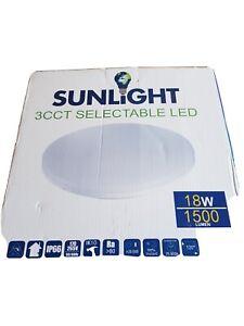 Sunlight 3 CCT Selectable led light 18w ceiling light