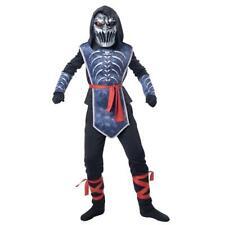 Ninja of Death Light Up Boys Halloween Costume Size Large 10-12 NEW