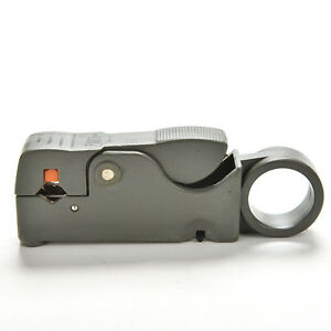 Cable Stripper For RG59 RG6 RG11 Coaxial Wire Coax Stripping Tool KitsD_js