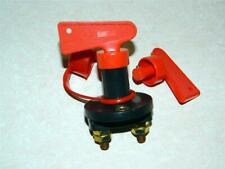 Battery Isolation Switch 100 amp with 2 keys For boats, caravan, motormovers etc