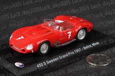 Maserati 405 S Sweden Grand Prix 1957 #7 Behra Moss 1/43 Diecast Model