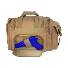 Coyote Brown Tan Tactical EMT EMS Paramedic Concealed Carry Holster Duffle Bag