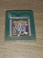 Nintendo Pokemon: Crystal Version (Game Boy Color, 2001) GBC *AUTHENTIC* TESTED