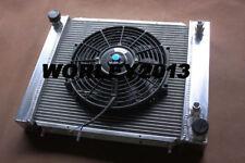 Aluminum radiator + fan for Land Rover Defender & Discovery & Range Rover 200TDI