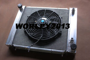 Aluminum radiator + fan for Land Rover Defender & Discovery & Range Rover 200TDI