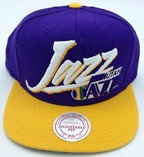e1ad0d44fb0 NBA Utah Jazz Mitchell and Ness Retro Adult Adjustable Cap M N ...