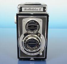 Reflekta II Zweiäugige 6x6 TLR Kamera mit Meyer Optik Trioplan 3.5/75 - (41795)