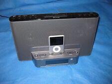 Sony ICF-CS15iPN Speaker Dock/Clock Radio for iPod and iPhone - Black