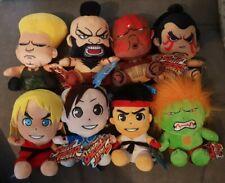 Street Fighter FIGURES RYU KEN BLANKA CHUN LI ZANGIEF GUILE E.HONDA PLUSH TOY