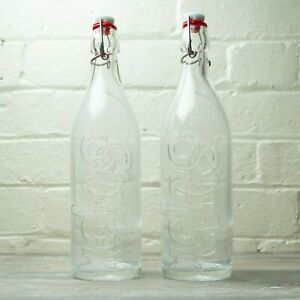 Supreme Swing Top Glass Bottle 1 Litre