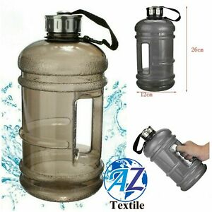 2.2 Litre Jumbo Sports Water Drinks Bottle Home Office Gym Dieting with Handle