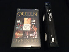 QUEEN LIVE IN RIO AUSTRALIAN VHS VIDEO