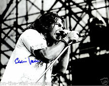 PEARL JAM EDDIE VEDDER HAND SIGNED AUTOGRAPHED RARE PHOTO! WITH PROOF + C.O.A.!