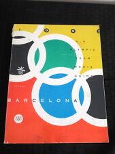 1992 Barcelona Olympics USA Media Guide RARE!!!! Fair condition