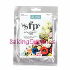 SQUIRES 200g EDIBLE SUGAR FLORIST / FLOWER / PETAL PASTE - WHITE
