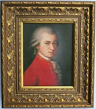 Mozart  Framed Oleograph / Oilograph  R511#E  Reproduction Picture , Art    .