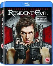 RESIDENT EVIL 1-6 FILM COLLECTION NEW/SEALED 6 DISC BOXSET BLU RAY