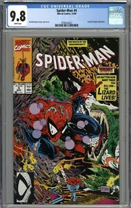 Spider-Man #4 CGC 9.8 NM/MT WHITE PAGES