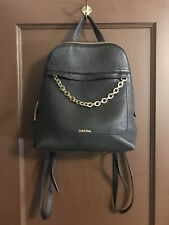 Calvin Klein Leather Pebble Backpack Purse/ Fixable?