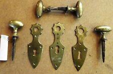 Antik Möbel Beschlag Schlüsselblende Schlüsselschild Möbelschild  4095//00.01