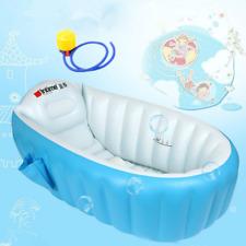 Aufblasbare Badewanne Babybadewanne Kinder Falten Waschbecken Swimming Pool